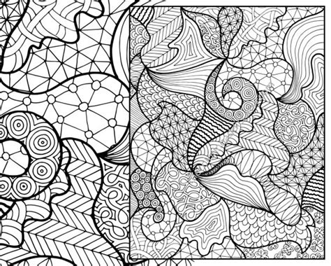 coloring pages patterns pdf zentangle pattern coloring sheet instant coloring zentangle