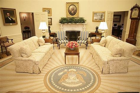 reagan s sunbeam rug oval office rugs presidential carpets of the oval office