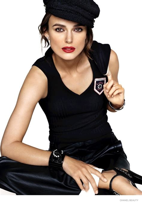 rouge coco film with keira keira knightley lands another chanel caign announced