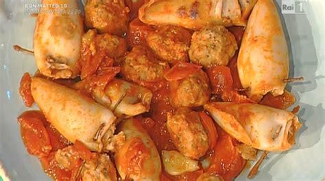 ricette per cucinare la prova cuoco la ricetta dei calamari ripieni di moroni da la prova