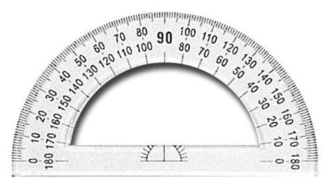protractor template to print printable protractor cliparts co