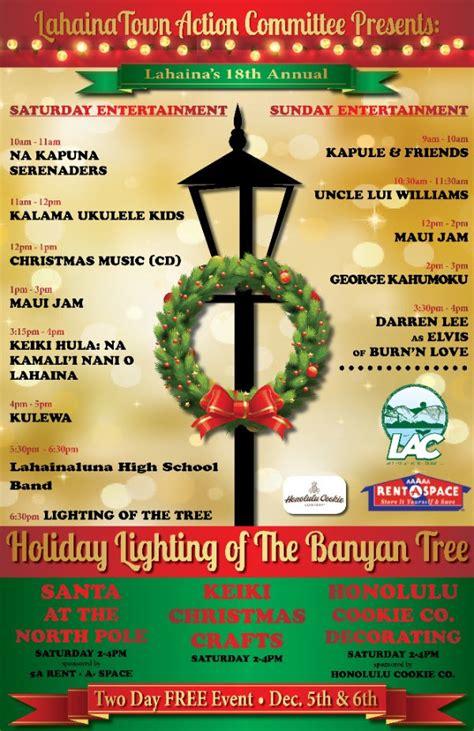 lighting of the banyan tree lahaina vacation info