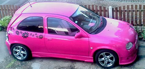 opel pink my pink corsa flickr photo