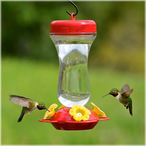 perky pet perky pet top fill glass hummingbird feeder