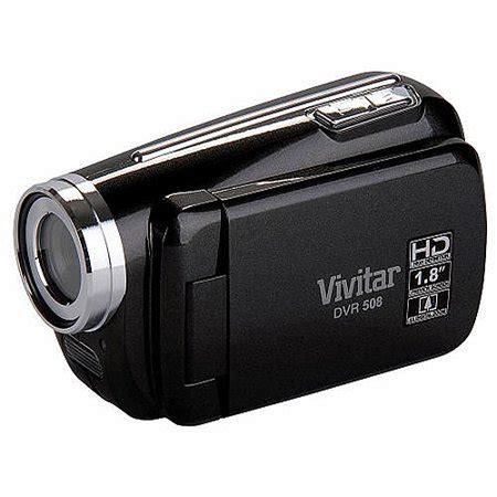 vivitar black dvr508 hd digital video recorder walmart.com