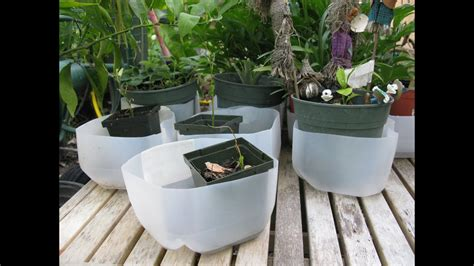 empty milk jug  plant drain tray container