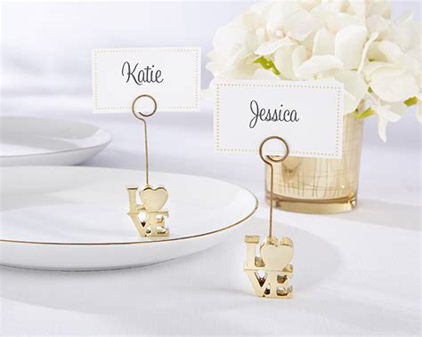 table card holders wedding template gold place card holder set of 6 my wedding favors