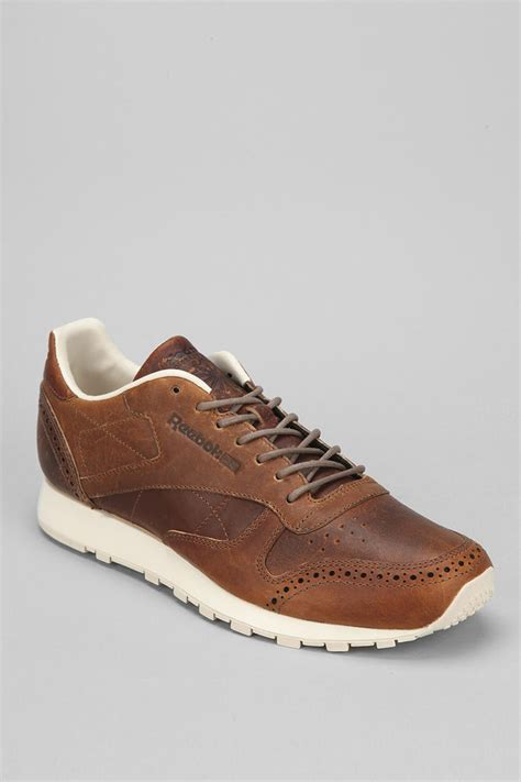 brown leather sneaker reebok brown outdoor shoes jlapressureulcerpartnership co uk
