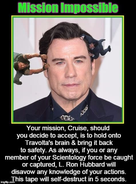 Tom Cruise Meme Generator - tom cruise saves travolta s brain imgflip