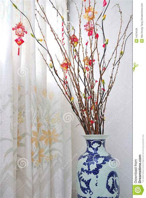 how to make new year tree lunar new year tree decoration stock photo image