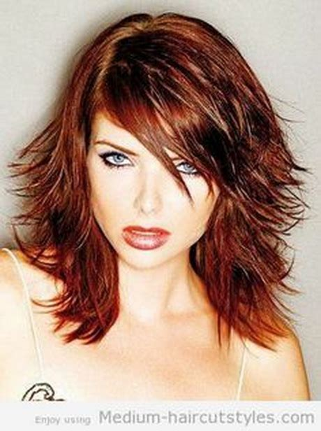 Hairstyles For Medium Length Hair 2014 by Medium Length Layered Haircuts 2014