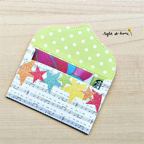 how to make a gift card envelope diy gift card envelopes by kymona may sted sealed