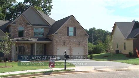 Paran Homes by The Lakes At Franklin Goldmine Paran Homes Boral