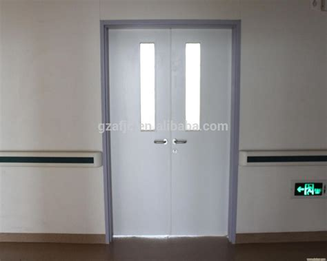 air tight door design clean room door with hinge airtight door for lab patient
