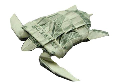 Turtle Origami Dollar Bill - seawayblog 10 origami of aquatic animals folded with 1