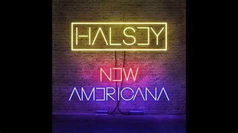 halsey new americana official lyrics halsey new americana official instrumental youtube