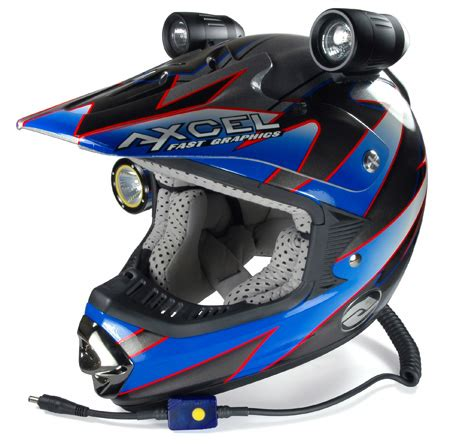 light motocross helmet need your help with helmet lights general dirt bike