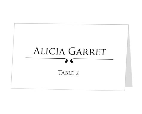 avery place card templates best photos of printable place card template wedding