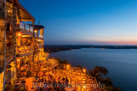 dinner on a boat lake travis oasis after dark bee creek photo commercial and fine