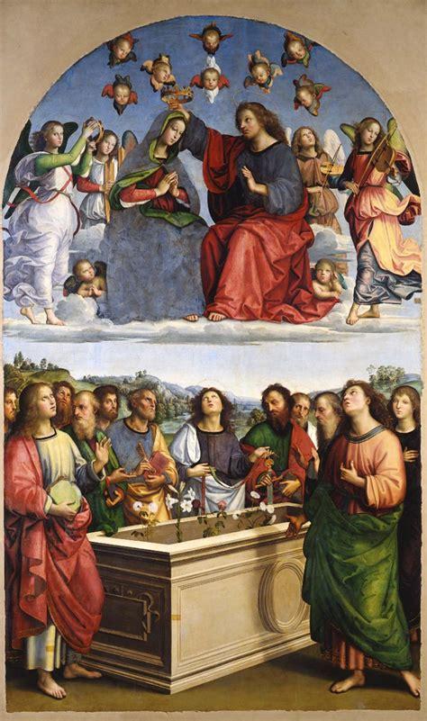 raffaello sanzio crowning   virgin