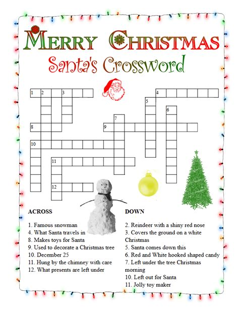 free printable christmas word games puzzles christmas crossword north pole news