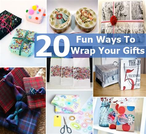 ways to wrap gifts 20 ways to wrap your gifts diy home things