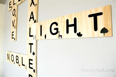 puzzle depot scrabble word finder diy scrabble tile wall decorchick