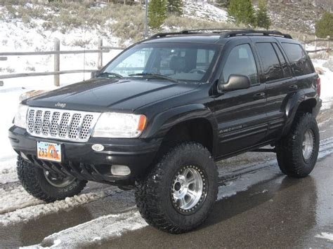 1999 Jeep Grand Custom Wj Custom Grille Jeep Grand Wj 1999 2004