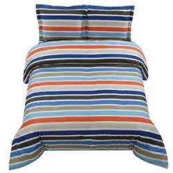 Blue And Orange Bedding Sets Uk Boys Blue Orange Stripe Stripes Comforter Sham