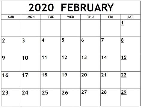 printable february  calendar net market media   printable february