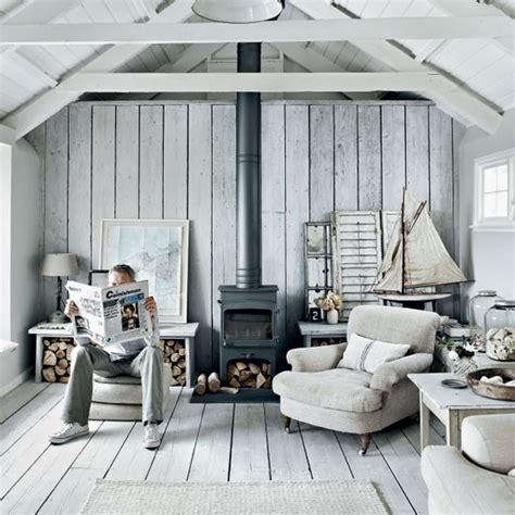 Seaside Interiors by Rustic Coastal House Of Gray Color Digsdigs