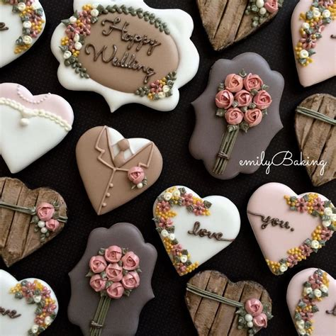 galletas decoradas cookies galletas decoradas boda wedding cookies bodas y san valentin galletas decoradas