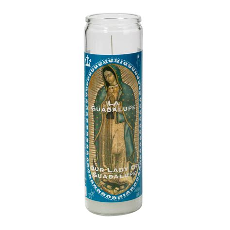 religious candles   guadalupe candle