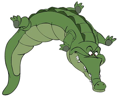 crocodile clipart captain hook smee and crocodile clip disney clip