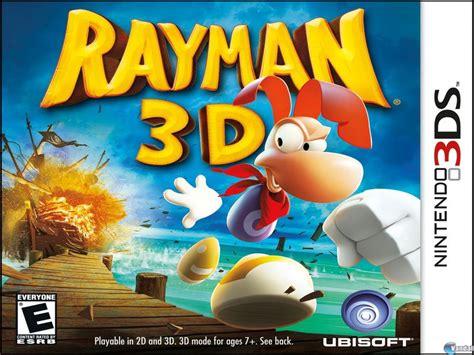 imagenes en 3d nuevas ubisoft distribuye nuevas im 225 genes de rayman 3d noticias