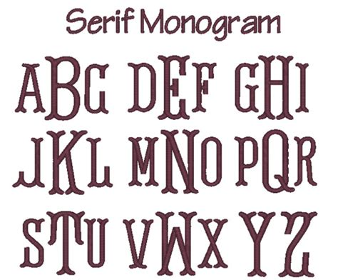 free printable fonts no download monogramming letters for download home decoration club