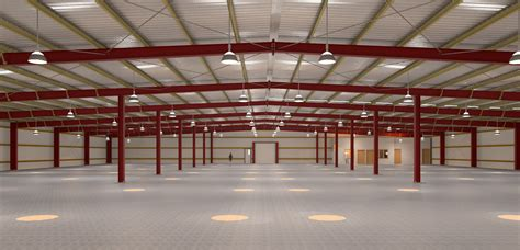 Steel Structure Shed by Steel Buildings Skc Thailand