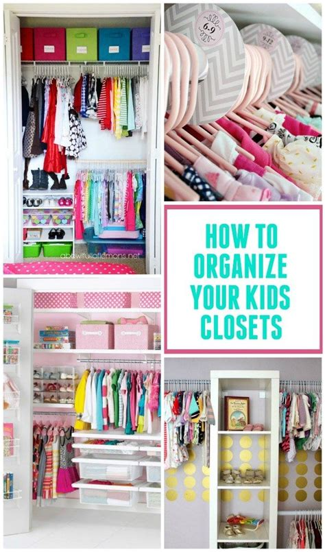 how to organize your bedroom closet 1000 images about kid bedrooms on pinterest kids rooms