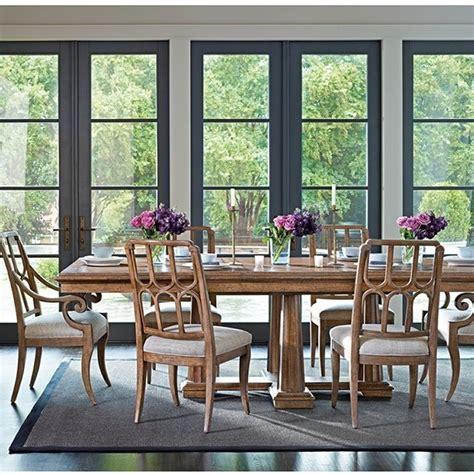 stanley furniture archipelago calypso pedestal dining