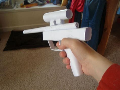 How To Make A Paper Wars Gun - wars pistol all