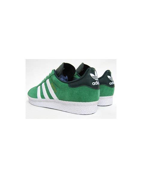 Adidas Gazelle 2 0 Green White adidas gazelle 2 trainers fairway green white adidas