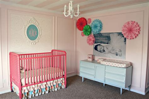 pink baby room readers favorite bonnie s sweet baby nursery project
