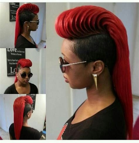 Hairstyles On Pinterest 42 Pins | hairstyle hairstyles pinterest mohawks hair style