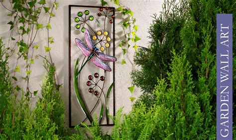 Outdoor Garden Decorations Made Of Old Wooden Ladders Outdoor Garden Wall Decor