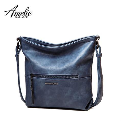 amelie galanti 2017 messenger shoulder bag vintage high quality crossbody bags casual