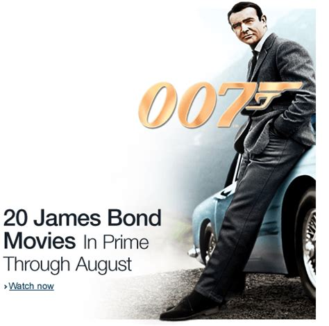 film james bond in streaming watch 20 james bond movies in hd for free on amazon prime