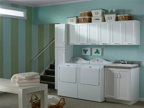 White Cabinets Laundry Room White Cabinets Rockford Door Style Cliqstudios Contemporary Laundry Room Minneapolis