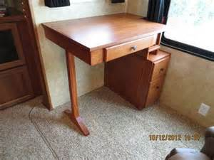 Computer Desk In Rv Rv Desk Rv Auto
