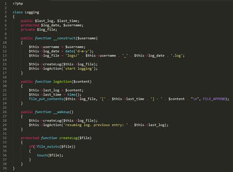 udemy writing secure php code php security never pass untrusted data to unserialize when writing php