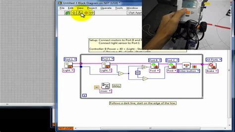labview tutorial lego mindstorm how to program your lego mindstorms nxt with labview part